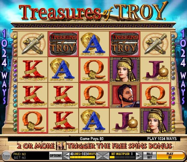 Troy slots
