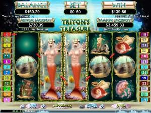 Tritons Treasure slot